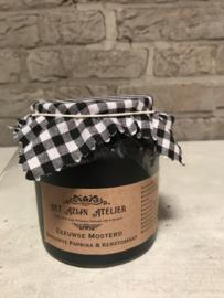 Gerookte Paprika & Kerstomaten Mosterd 270 ml.
