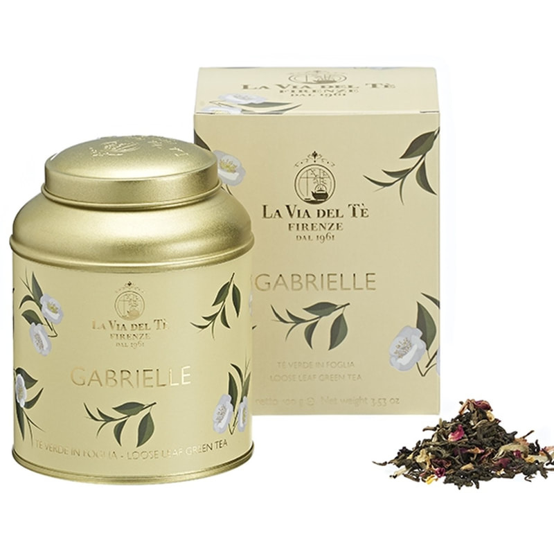 Gabrielle thee 100 grams blik