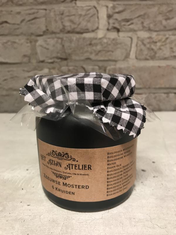 6 Kruiden Mosterd 270 ml.