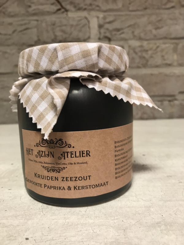 Gedroogde Zeeuwse Kerstomaten & Gerookte Paprika 270 ml.
