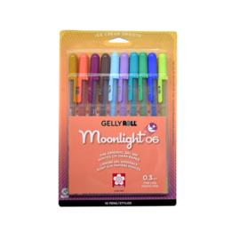Sakura Gelly Roll Moonlight 06 - set 10 st - 2020 nieuwe kleuren **US versie