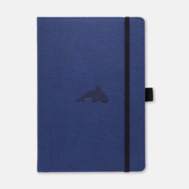 Dingbats* Wildlife A5+ Dotted Notitieboek - Blue Whale