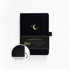 Archer & Olive The Blackout Book Dotted A5 - Cresent Moon