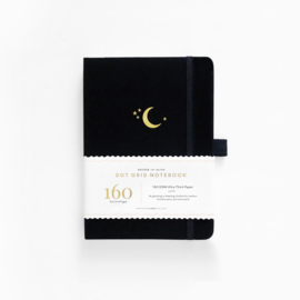Archer & Olive  Dotted Notebook  B5 - Crescent Moon