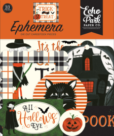 Echo Park Trick or Treat Epherema