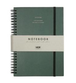Notebook Big - Forest Green A5