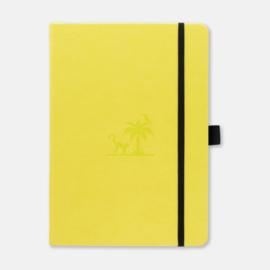 Dingbats*  Earth A5+ Dotted notitieboek  - Lime Yasuni