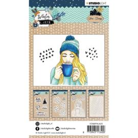 Studio Light Stamp A6 Winter Joys nr 420
