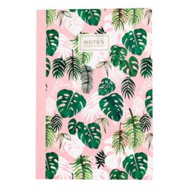 Schrift - Tropical Palm A5