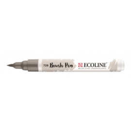 Talens Ecoline Brush Pen - 728 Warmgrijs Licht