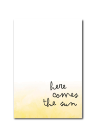 Kaart | Here comes the sun