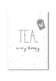 Kaart | Tea is my therapy