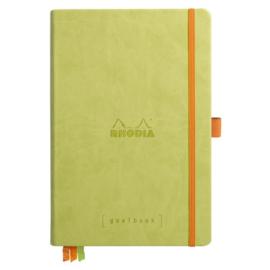 Rhodia | Rhodiarama Hardcover Goalbook A5 | Bullet Journal Anise Green