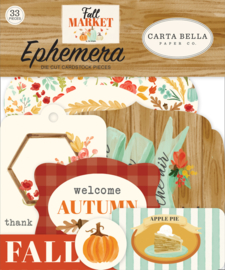 Carta Bella Fall Market Ephemera