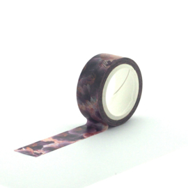 Washi Tape - Romantic Blossom (Gouden Lijntjes)