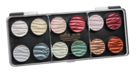 Pearlcolor Set12 colors Pearl & Shimmer