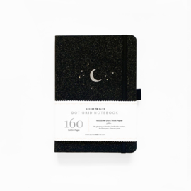 Archer & Olive  Dotted Notebook A5 -Forest Night