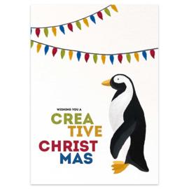Kerstkaart - Creative Christmas