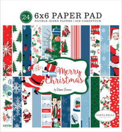 Carta Bella - Merry Christmas 6x6 inch Paper Pad