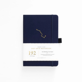 Archer & Olive  Dotted Notebook A5 / 192 pages - Night Sky