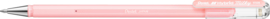 Pentel Hybrid Milky Gel Roller Pen - Pastel Roze