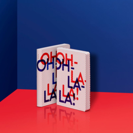 Nuuna  Dot Grid Notitieboek A6- Oh La La