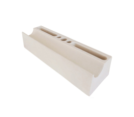 Desk organizer Washi white