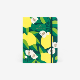 Mossery dotted notitieboek - Lemon Tree
