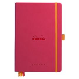 Rhodia | Rhodiarama Hardcover Goalbook A5 | Bullet Journal Raspberry