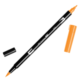 Tombow ABT Dual Brush pen 933 Orange