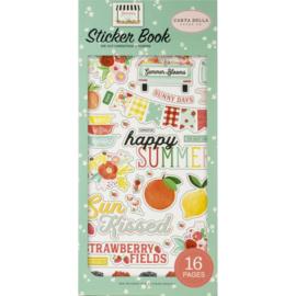 Carta Bella Summer Market Sticker Book