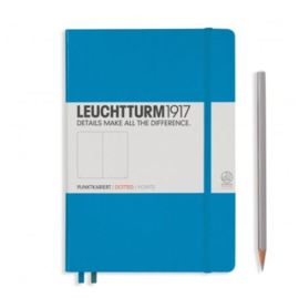 Leuchtturm1917 Notitieboek Medium Azure Dotted