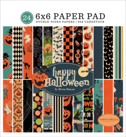 Carta Bella Happy Halloween 6x6 inch Paper Pad