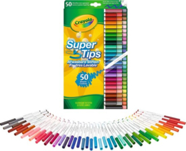 Crayola - Viltstiften met Superpunt 50 stuks