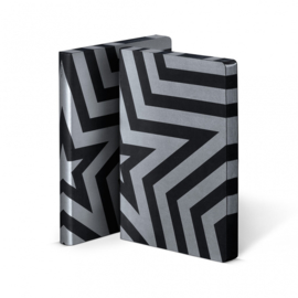 Nuuna Dot Grid Notitieboek A5 - Super Star Silver
