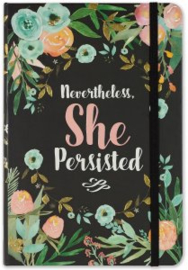 Peter Pauper Bullet Journal A5 - Nevertheless She Persisted