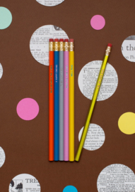 Book Lover's Pencil Set