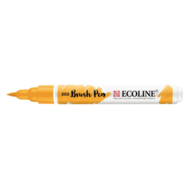 Talens Ecoline Brush Pen - 202 Donkelgeel