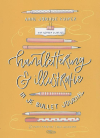 Handlettering & Illustratie in je Bullet Journal - Gouden Lijntjes