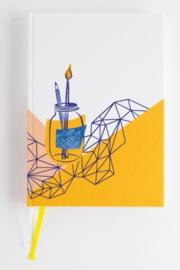 Bullet journal Graphic -  Gouden Lijntjes
