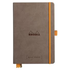 Rhodia | Rhodiarama Hardcover Goalbook A5 | Bullet Journal Chocolate