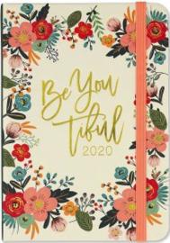 Peter Pauper Agenda 2020 Floral Frame Compact