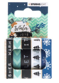 Studio Light Washi tape  - Winter Joys nr 05