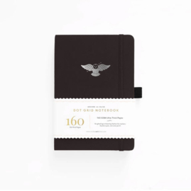 Archer & Olive  Dotted Notebook A5 - Night Owl
