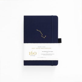 Archer & Olive  Dotted Notebook A5 - Night Sky