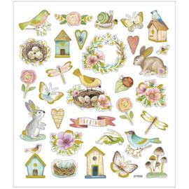 Stickervel - Voorjaar en Pasen