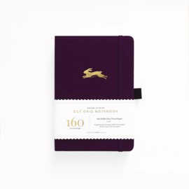Archer & Olive  Dotted Notebook A5 - Lucky Rabbit