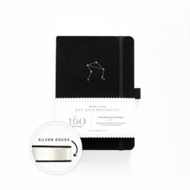Archer & Olive  Dotted Notebook A5 Zodiac - Libra (Weegschaal)