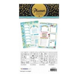 Studio Light - Clear Stamp A5 Planner journal nr. 02