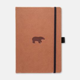 Dingbats* Wildlife A5+ Dotted Notitieboek - Brown Bear